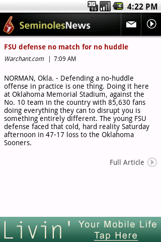 seminoles-news for android screenshot