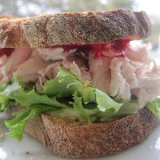 Leftover Turkey Sandwiches
