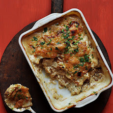 Potato and Caramelized Onion Gratin