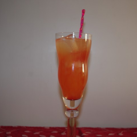 Fresh Orange-Berry Cocktail