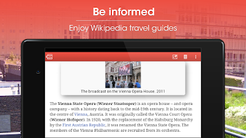 Screenshot of Vienna Travel Guide