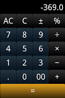 Screenshot of Talking Calc