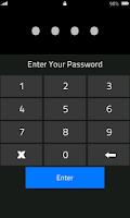 Screenshot of High Security Lock Screen