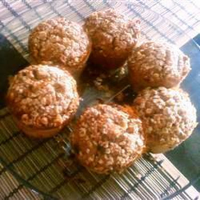 Oat and Apple Streusel Muffins
