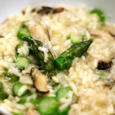 Dinner Tonight: Asparagus and Shiitake Risotto