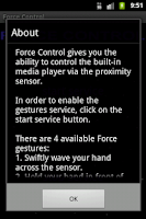 Screenshot of Force Control