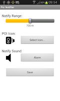 Screenshot of Poi Notifier