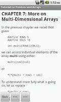 Screenshot of C Programming Reference FREE