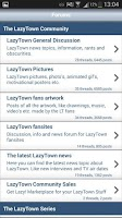 Screenshot of LazyTown Forum - GetLazy