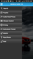 Screenshot of MyMazda