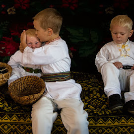 brothers   by Ionel Onofras - Babies & Children Children Candids ( country boys, boys, traditions, customs, brothers )