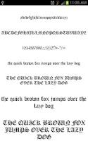 Screenshot of Royal Fonts for FlipFont free