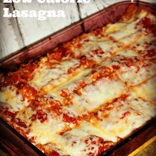 Low Calorie Lasagna Recipes