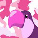 Pink Camouflage icon