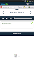 Screenshot of Learn Spanish Hello-Hello