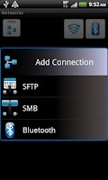 Screenshot of ASTRO Bluetooth Module