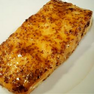 Salmon with Brown Sugar Glaze