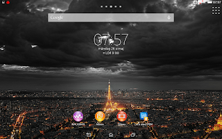 Screenshot of XPERIA™ Theme NightCity