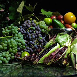 Harvest by Jim Wheelock - Food & Drink Fruits & Vegetables ( grapes, food, harvest, corn, photograhy )