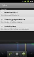 Screenshot of Bluetooth Status Bar Switch