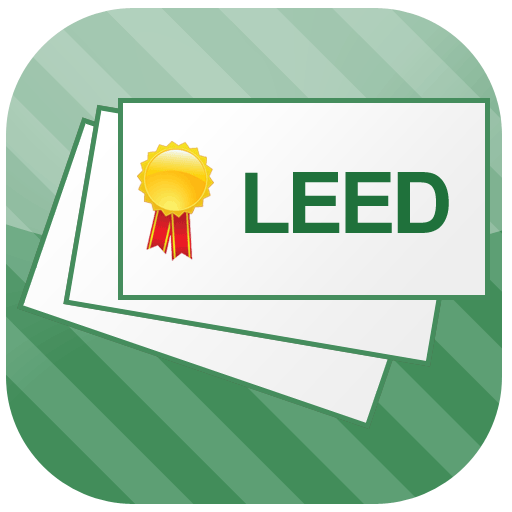 LEED Flashcards LOGO-APP點子