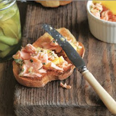 Potted Salmon With Pickled Cucumbers