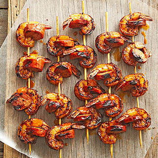 Shrimp and Chorizo Kabobs