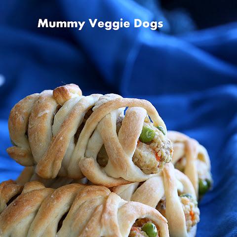 Vegan Mummy Dogs
