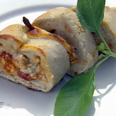 Buffalo Wing Pizza Roll-Up (team Robert version)