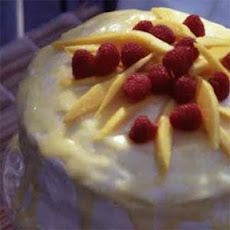 Orange-Mango-Triple Sec Layer Cake