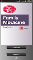 Screenshot of PreTest Family Medicine