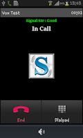 Screenshot of MoSIP Mobile Dialer