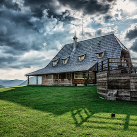 Mecavnik by Dobrinovphotography Dobrinov - Buildings & Architecture Public & Historical ( old, mountain, wood, human settlement, house, architecture, farm, traditional culture, nature, village, style, cottage, travel destinations, grass, front or back yard, green, community, old-fashioned, drvengrad, fence, environment, country - geographic area, serbia, residential structure, outdoors, rural scene, bungalow, balkans )