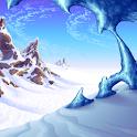 Live Wallpaper - Ice Wind icon