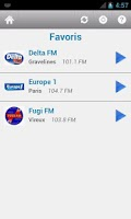 Screenshot of France Radio Pro