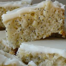Almond Poppy Seed Bars