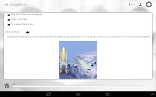 Screenshot of Aerospace Engineering 101