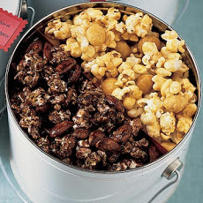Chocolate-Almond Popcorn
