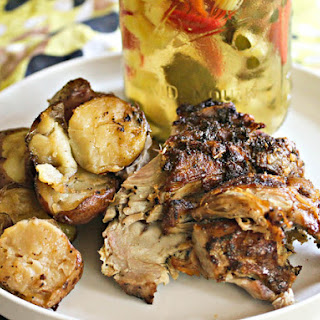 Slow Cooker Puerto Rican Pernil With Pique Criollo