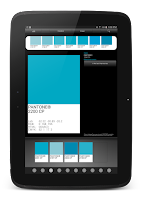 Screenshot of myPantone