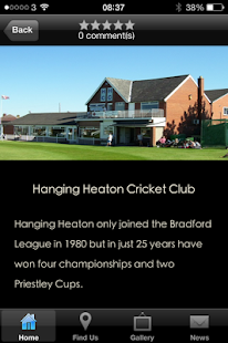 Hanging Heaton Cricket Club - screenshot
