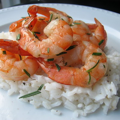 Roasted Rosemary Shrimp