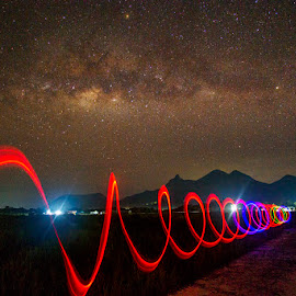 by Sonni Suryatmojo - Abstract Light Painting