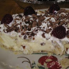 Vanilla Bavarian Cream Pie