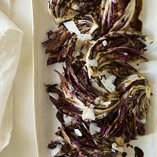 Simple Grilled Radicchio with a Balsamic Drizzle