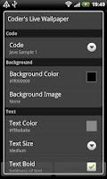 Screenshot of Coder's Live Wallpaper Unlock