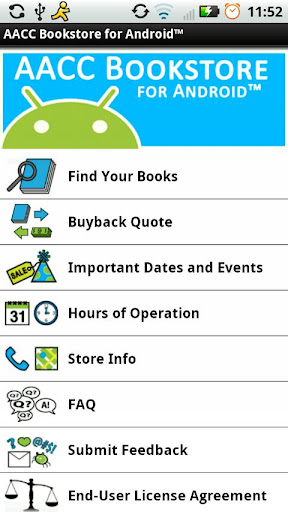 AACC Bookstore for Android™