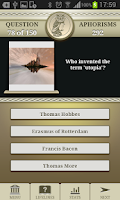 Screenshot of Genius Philosophy Quiz Lite