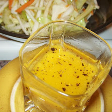 Peasant Turnip Slaw With Sweet Hot Mustard Dressing