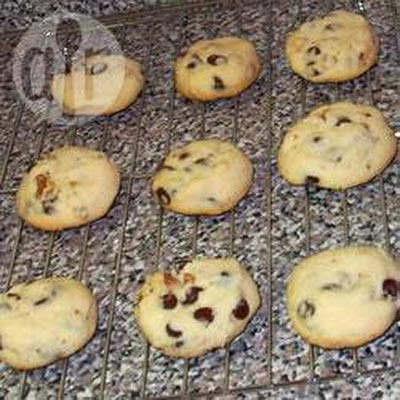 Chocolate Chip Shortbread Biscuits